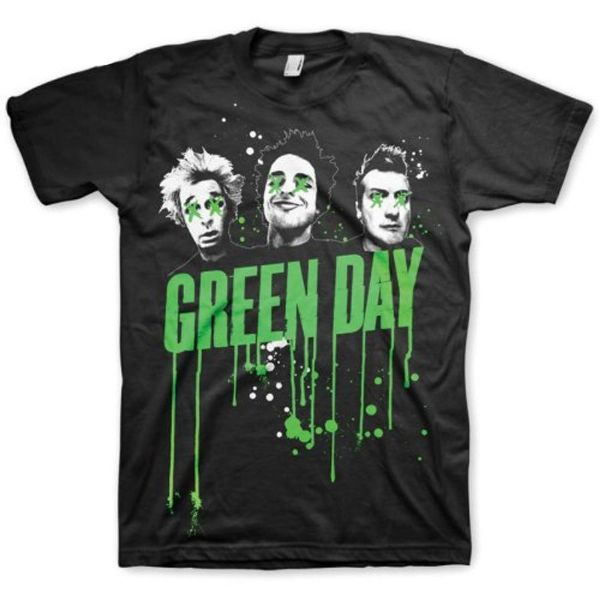 GREEN DAY Black Unisex T-Shirt